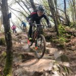 Luke Moir pictured during the stage one of the under-16 Internazionali d'Italia XCO Series in Italy yesterday. Photo: Supplied