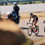 Marc Pritzen and Steven van Heerden during stage four of Tour de Limpopo