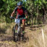 Older rider seen enjoying the terrains of the Sabie Xperience. Photo: Land Rover Nelspruit