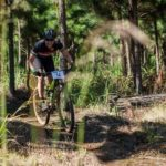 Rider ecstatically going through the forest terrains of the Sabie Xperience over the weekend. Photo: Land Rover Nelspruit