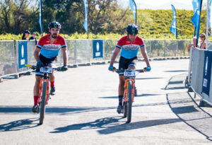 Marco Joubert (left) and Dylan Rebello Winelands Encounter stage three