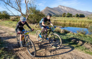Scenic photo of riders stage one Gravel & Grape Extreme 3-day