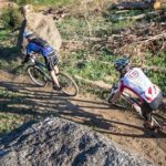 Mountain bikers in action during last year's Gravel Travel MTB race that took place in Wellington