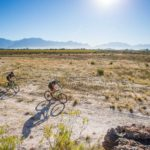 Riders taking flat terrain during stage two of the Gravel & Grape Extreme 3-day. Photo: Chris Hitchcock