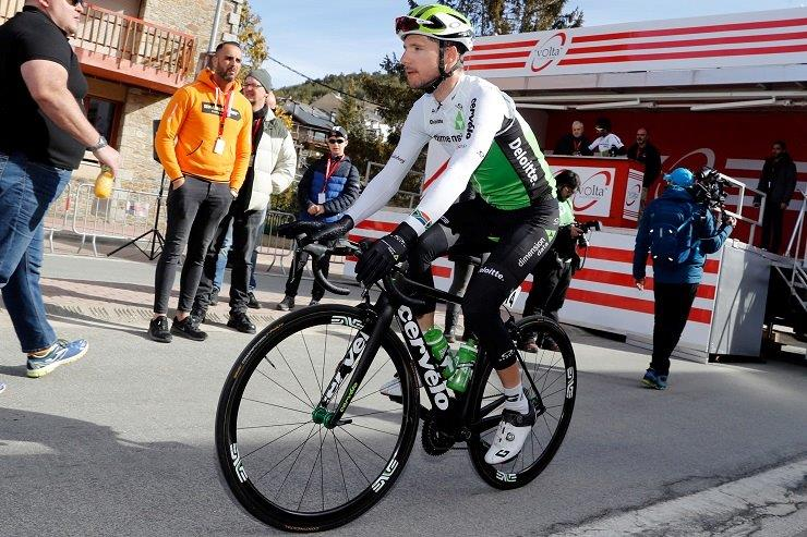 Jacques Janse van Rensburg will be looking to play a pivotal supportive role during the 21-stage Giro d'Italia which starts in Jerusalem tomorrow. Photo: Stiehl Photography