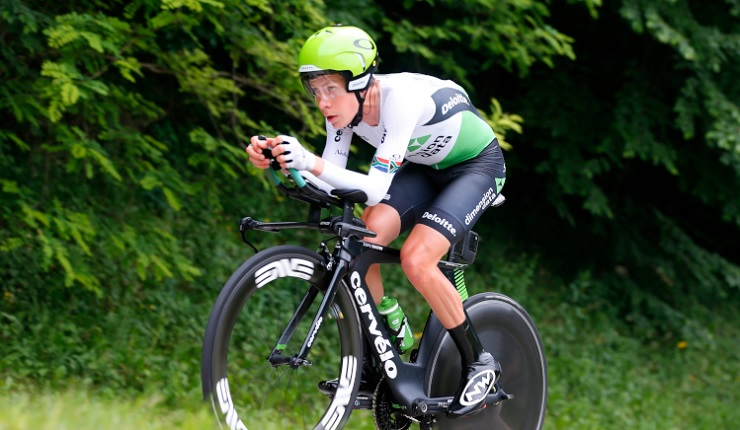 DiData's Louis Meintjes has been forced to withdraw from the Giro d'Italia due to illness. Photo: Stiehl Photography