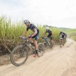 Men's winning pair, NAD Pro's Matt Beers and Nico Bell in action during stage three of the sani2c Race. Photo: Anthony Grote