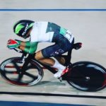 Rickardo Broxham (pictured) and Courtney Smith will represent South Africa at the Junior Track World Championships in Aigle, Switzerland. Photo: Bev McKenna
