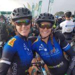 Galileo Risk's Theresa Ralph and Sarah Hill
