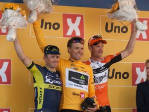 DiData's Edvald Boasson Hagen (middle) will look to defend his title of the Tour of Norway when the five-stage race begins tomorrow. Photo: Photo credits