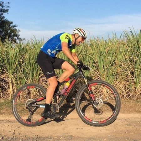 Andrew Johnson will be hoping to hold onto his Road Series lead when he takes part in the 45km Sugar Rush Classic. Photo: Supplied