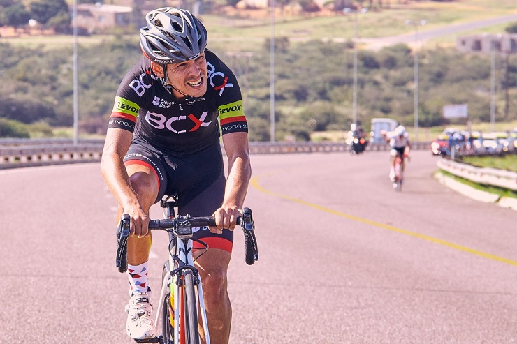 David Maree, pictured here during the Tour de Limpopo
