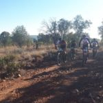HB Kruger and Regis Maniora (right) won stage two of the Liberty Waterberg Encounter