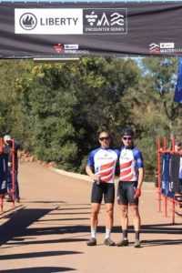 HB Kruger and Regis Maniora won stage one of the Liberty Waterberg Encounter