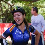 Galileo Risk's Sarah Hill, who placed second in the opening round of the Trailseeker race