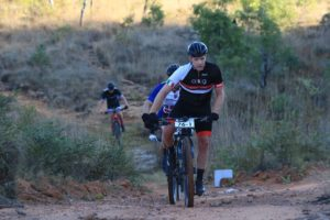 Hanco Kachelhoffer in action on day two of the Liberty Waterberg Encounter