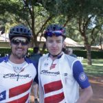 Overall men winners ASG-Cape Duo's Regis Maniora (left) and HB Kruger. Photo: Gerrie Kriel / Twin Productions SA