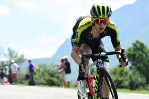 Mitchelton-Scott's Adam Yates during stage 19 of the Tour de France