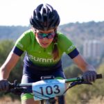 Despite a mechanical setback, Candice Lill focused on the positives after finishing second at the SA MTB XCO Championships yesterday. Photo: Milan de Beer Photography