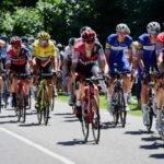 Tour de France action stage five