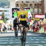 Briton Geraint Thomas of Team Sky executed a well-timed tactical attack late in the race to win stage 12 of the Tour de France and retain the yellow jersey at Alpe d'Huez today. Photo: ASO/Alex Broadway