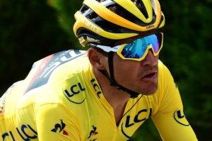 Greg van Avermaet in action during stage four of the Tour de France