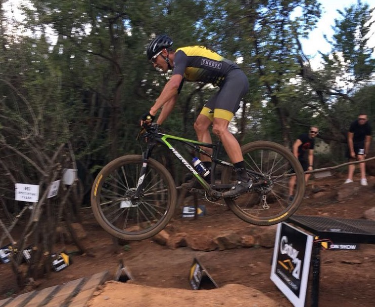 Jan Withaar will be vying for a podium spot in the elite men's South African cross-country championships tomorrow. Photo: Supplied