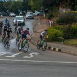The elite women taking on a turn during the Jock Classic. Photo: Memories 4 U Photography