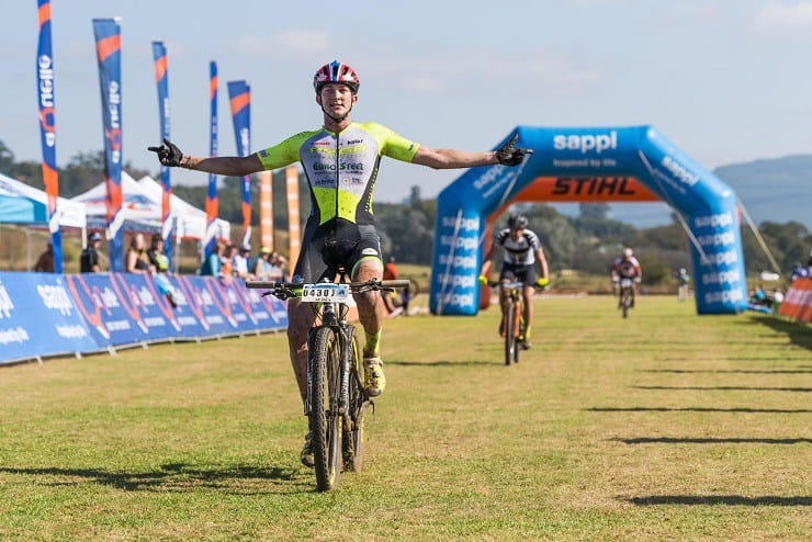 Team PYGA Euro's Julian Jessop hopes to defend his under-23 title in the cross-country race at the SA National MTB Championships