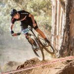 Luke Moir (pictured), 15, has caused a stir in the world of South African junior mountain-biking after clinching both the national marathon and cross-country championships this month. Photo: Supplied