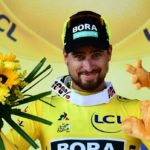 Peter Sagan after stage two of the Tour de France