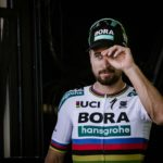 Bora-Hansgrohe's Peter Sagan on stage six of the Tour de France.