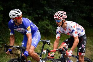 Quick-Step Floors' Philippe Gilbert and Julian Alaphilippe