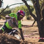 PYGA Euro Steel's Phillimon Sebona placed eighth in his maiden cross-country race at the SA MTB XCO Championships