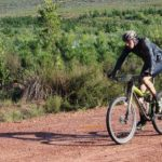 Pieter Korkie was delighted to have won his second consecutive Platberg Classic MTB Race in Harrismith today. Photo: Supplied