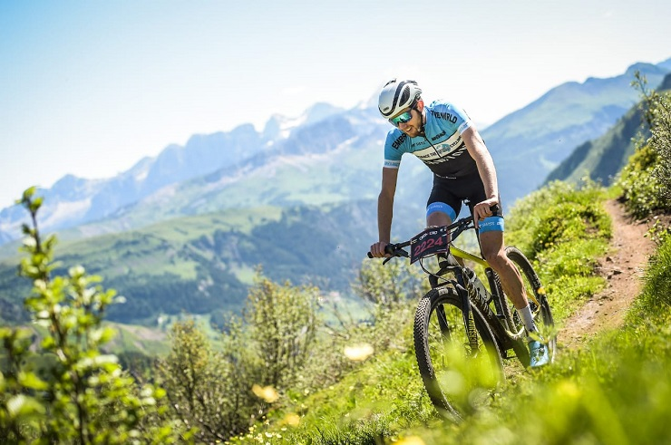 Robert Hobson had a brief but intense learning experience while taking part in several competitive cycling events in Europe since early June. Photo: Sportograf