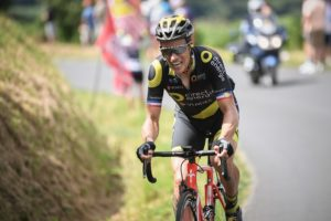 Direct Energie's Sylvain Chavanel in action on stage five of the Tour de France