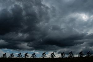 The peloton during stage 15 of the Tour de France