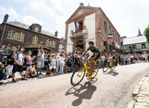 Direct Energie's Fabien Grellier during stage eight of the Tour de France