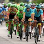 Cyclists in action during stage one of last year's Tour of Austria