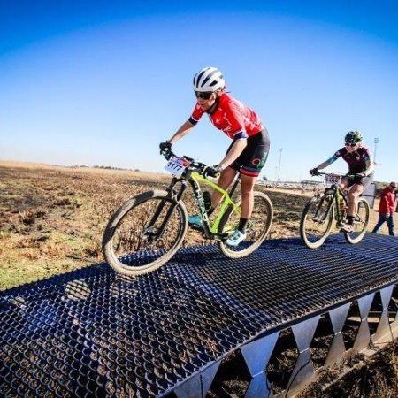 Talented teenage cyclist Azulde Britz