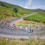 Deutschland Tour stage three action