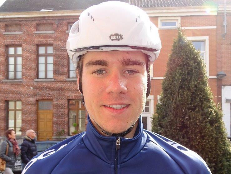 Quick-Step Floors' Fabio Jakobsen (pictured) sprinted to victory on the 177.3km opening stage of the BinckBank Tour in Netherlands yesterday. Photo: Photo credits