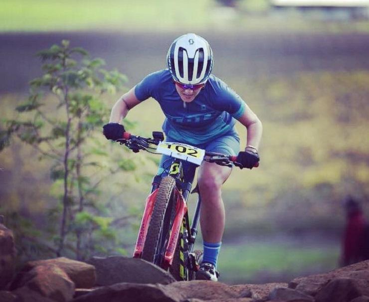 Janice Venter in action. Photo: Gustav Klotz