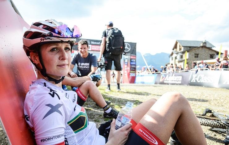 South Africa's Mariske Strauss