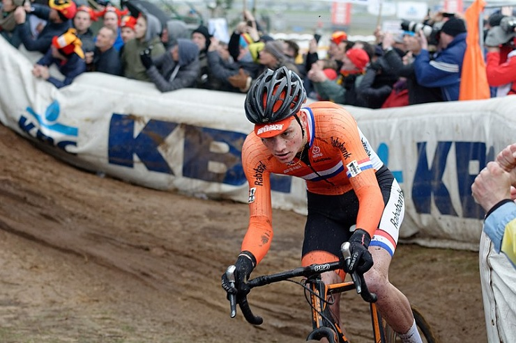 Corendon-Circus' Mathieu van der Poel won the 190.5km opening stage of the Arctic Race of Norway in Kirkenes today. Photo: Photo credits