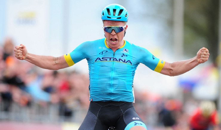 Michael Valgren (pictured) is set to join Team Dimension Data from January 1, 2019, the team announced today. Photo: Stiehl Photography