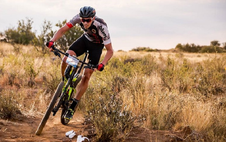 Pieter Korkie (pictured) achieved his goal of winning the overall Y2Karoo Race title with a clean sweep of victories. Photo: Reblex Photography