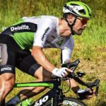 South Africa's Reinardt Janse van Rensburg of Dimension Data has returned to prominence after a lengthy injury layoff earlier this year, finishing seventh overall at the Deutschland Tour on Sunday. Photo: Stiehl Photography