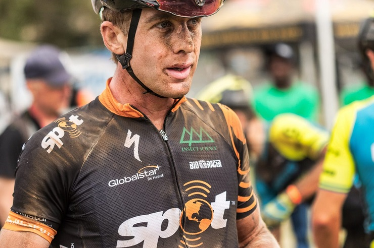 Timothy Hammond exceeded his expectations by defending his Trans Baviaans title alongside Ben Melt Swanepoel when the 227km race ended in Jeffreys Bay yesterday. Photo: Xavier Briel